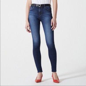 AG the farrah high rise skinny jeans size 25 R